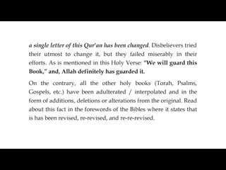 Beginning of The Dialogue of Between Muslim and Christian - Part 1
