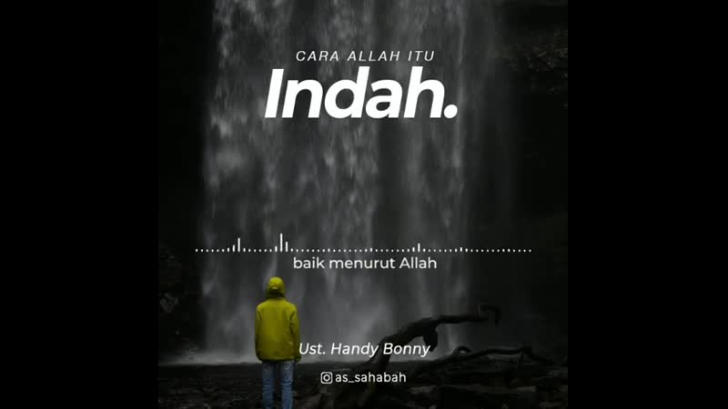 Cara Allah itu Indah