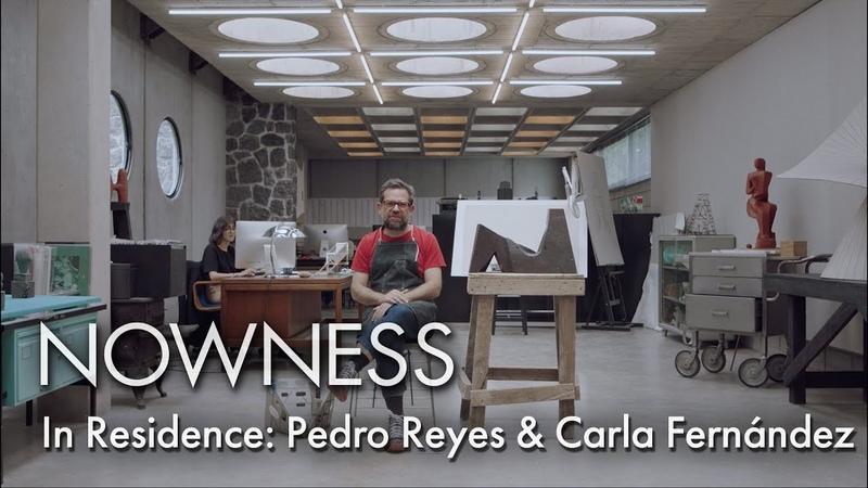 In Residence: Pedro Reyes Carla Fernández