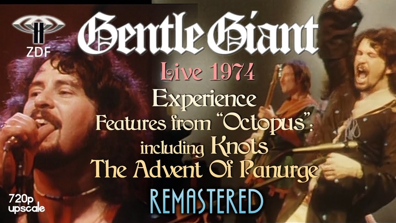 Gentle Giant Experience Features from Octopus Knots The Advent Of Panurge Live 1974 HQ