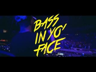 Wax motif// 13 october// bass in yo' face