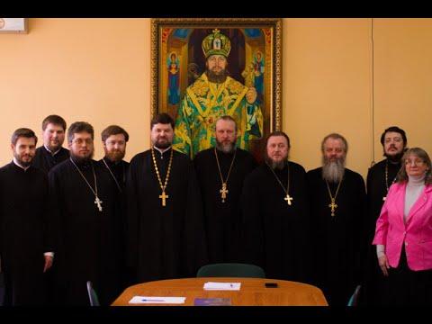 Состоялось заседание Ученого совета Тульской семинарии