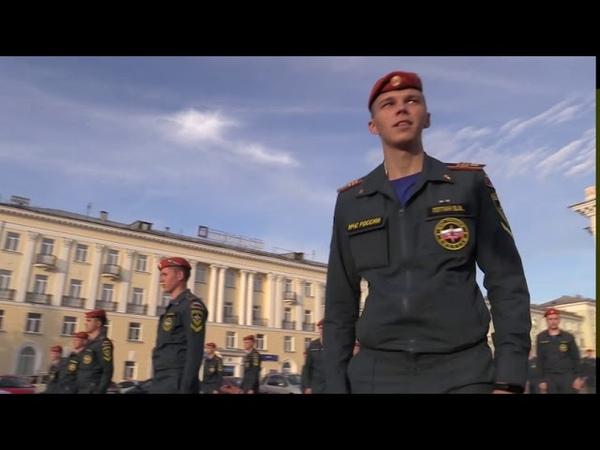 Танцевальный флешмоб Академии в честь 30 летия МЧС России