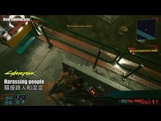 Cyberpunk 2077 Physics vs. GTA 5 Physics