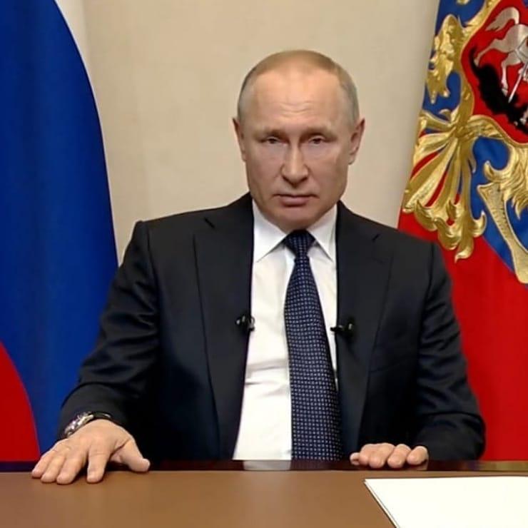 Ключевые заявления из Обращения Президента России Владимира Путина в связи с распространением коронавирусной инфекции перед совещанием с губернаторами 8 апреля