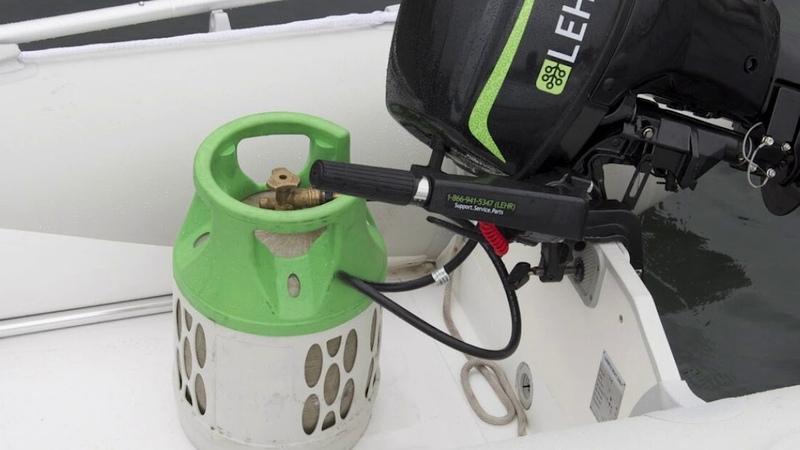 Лодочный мотор на газе 🔥 Газовые лодочные моторы уже продаются в России