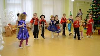 Замечательный музыкальный оркестр Новогодний утренник в детском саду