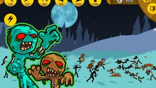 PERFECT LEVELS Battle Kai Rider Vs Zombie in Stick War Legacy - Android Gameplay