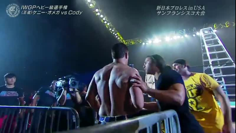 WWE Mania Kenny Omega vs Cody NJPW G1 Special In San Fransisco