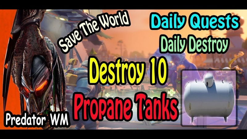 Destroy 10 Propane Tanks in successful missions ( often found in Industrial zones )