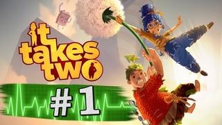 PS4 It Takes Two Пятничный стрим часть 1