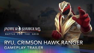 Power Rangers: Battle for the Grid - Ryu, Crimson Hawk Ranger