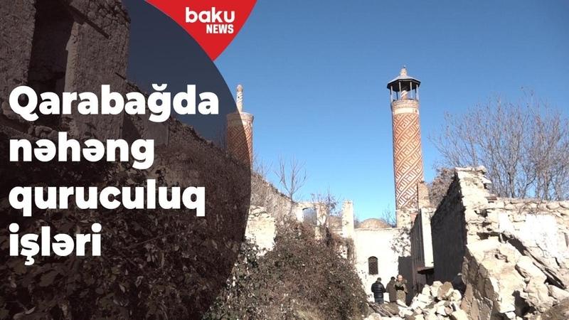 Qarabağda nəhəng quruculuq işləri aparılır Baku TV