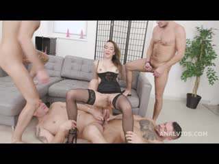 Triple Anal Masters Francys Belle 5 On 1 Balls Deep Anal, DAP, Gapes, TAP, Almost Buttrose And Creampie Swallow