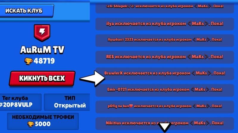 СРОЧНО ХЕЙТЕР КИКНУЛ ВЕСЬ МОЙ КЛАН В БРАВЛ СТАРС