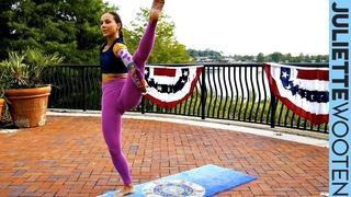 Power Yoga | Live 60 Min Class #2 | Juliette Wooten