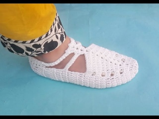 Crochet Shoes/Slipper# Learn Latest Easier Ladies/Girls Shoes,Booties, Designs