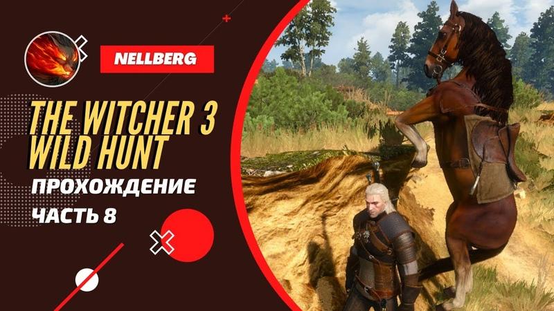 The Witcher 3 Wild Hunt Прохождение Часть 8 Путь к ведьмам на болотах