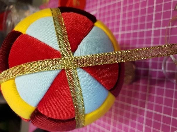 Создаем елочный шар «Большое путешествие» в технике Кимекоми Сегодня сделаем волшебный дирижабль, вложим в него записочку-мечту и отправим в путешествие на елку, повыше от земли.Итак, возьмем