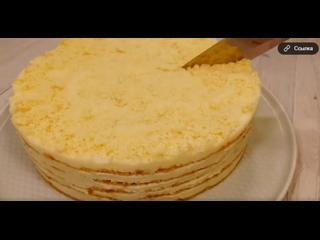 БЕЗ ДУХОВКИ. Обалденный торт ПЛОМБИР