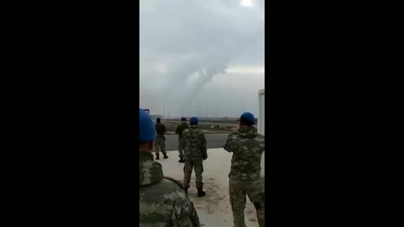 Турецькі військові завдають ударів по позиціях сирійської армії з РСЗВ T-300 «Kasirga».