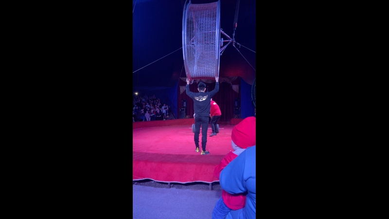 Live Анатолий Чиканчи на арене цирка Граф Орлов в Сыктывкаре