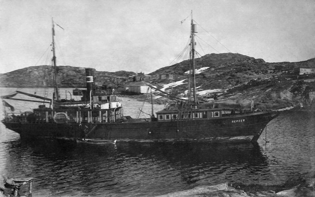 «Персей» – первое советское научно-исследовательское судно