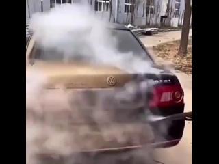 Чистка авто паром