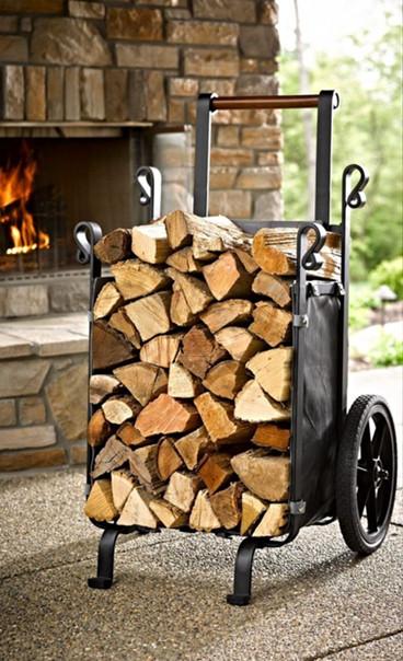 Варианты хранения дров #идеи@my.stroyka
