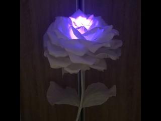 Роза-торшер мини✨ #светильники #торшеры #ростовыецветы #подарки