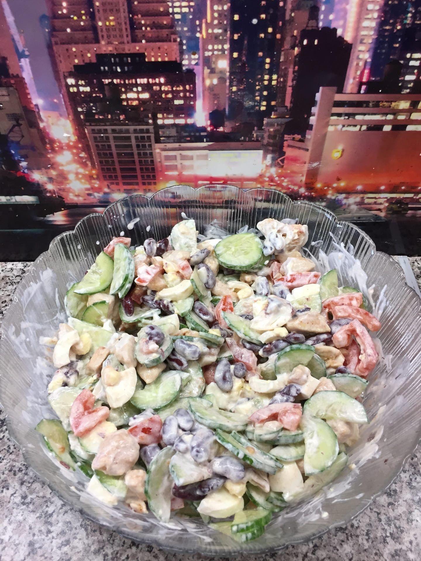 Вкуснейший ПП салатик