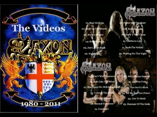 Saxon - The Videos (1980 - 2011) [2013, Heavy Metal ]