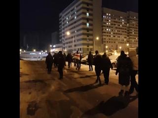 Жители Лебяжьего прошли маршем