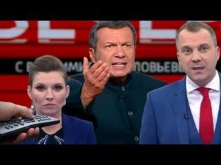 О том как напутствуют пропагандонов перед началом очередных россиянских ублюдочных телешоу для скудоумных {}