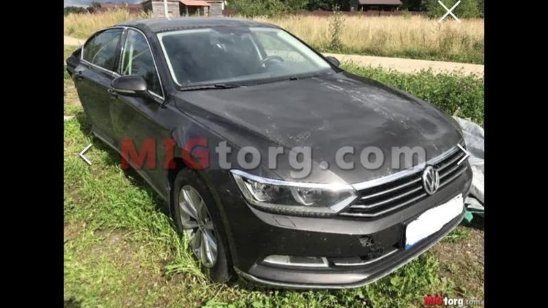 Volkswagen passat b8 2016 года total