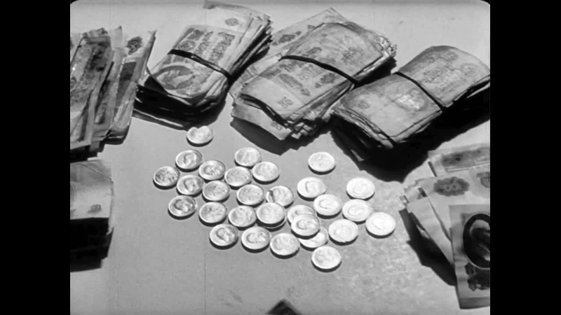 ОБХСС и спекулянты, фрагмент док. фильма Столице - образцовый правопорядок, 1975 год.