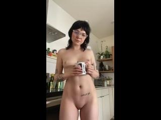Порно с Необычной Девушкой   Alternative Porn   Альт-порно   Альтернативные Девушки 18+ Morning cup of tea