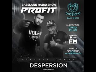 Bassland Show @ DFM () - Special guest Despersion