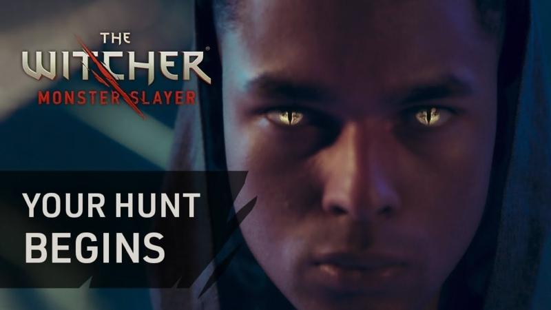 The Witcher Monster Slayer Твоя охота начинается