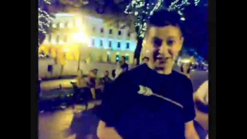 Oxxxymiron x Schokk Я Хейтер под баян в Одессе 2009 год Рифмы и Панчи