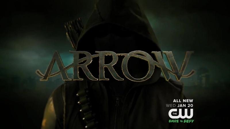 Стрела Arrow озвученное промо