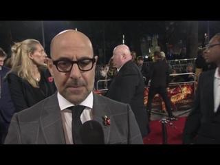 Интервью Стенли Туччи на премьере «СП2» (5 ноября, Лондон)