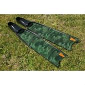 Ласты Leaderfins стеклотекстолитовые Sterеofins  Green Camo, размер 20x80 см
