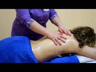 Видео приглашение на массаж от Карины