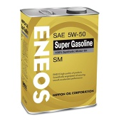 Масло ENEOS Super Gasoline 100% Synt 5/50 SM (4л)