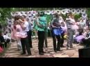 Танец с родителями на выпускном в детском саду