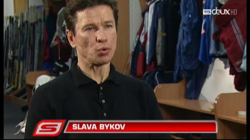 Вячеслав Быков Франкоязычное интервью