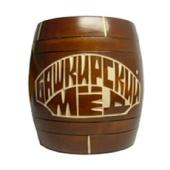 Мед «Бочонок деревянный» 1 кг.