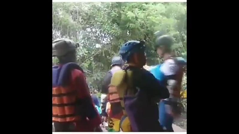 DBSJ di kalisuci Cave Tubing Gunung kidul jogjakarta. - TVXQ Changmin Yunho suju donghae e