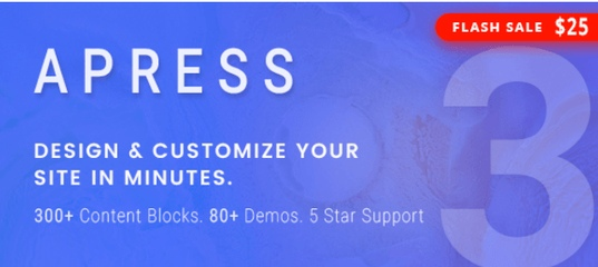 Apress v3.1.0 – Responsive Multi-Purpose WordPress Theme